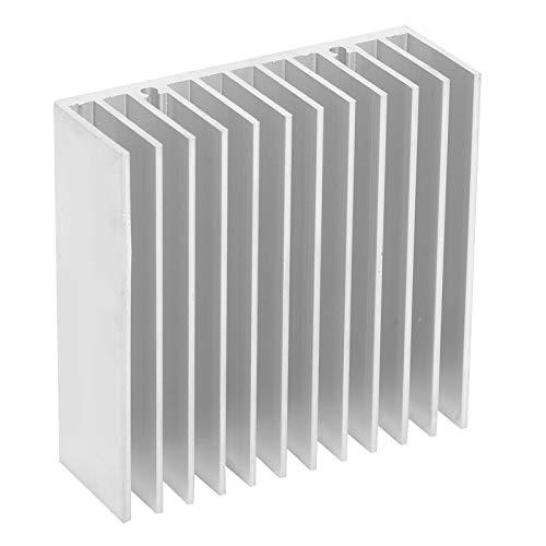 Disipador de calor de aluminio, enfriador de CPU de radiador de enfriamiento de aluminio para enrutadores CPU, radiadores IC, PCB