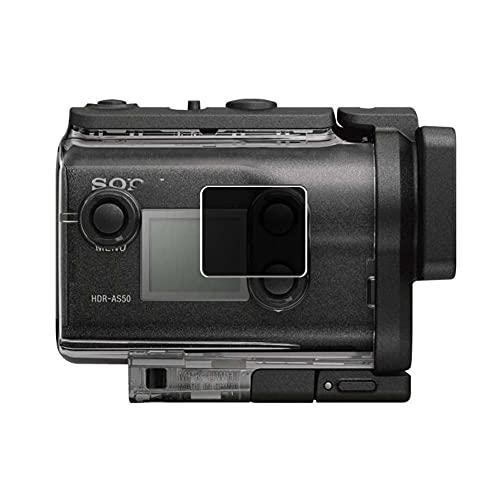Vaxson TPU Pellicola Privacy, compatibile con Sony HDR-AS50, Screen Protector Film Filtro Privacy [ Non Vetro Temperato ]