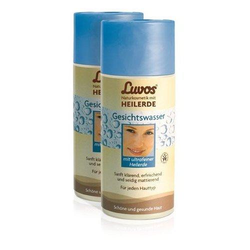 Luvos Gesichtswasser (2er Pack) - mit ultrafeiner Heilerde (2x150ml)