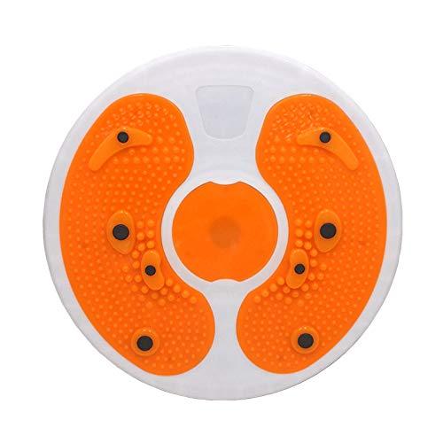 XUXN Twist Übungsbrett, Indoor Sport Twist Körper Taille Massage Disc Balance Board Home Aerobic Übung, 100617AN9CSTS9CR4, Orange