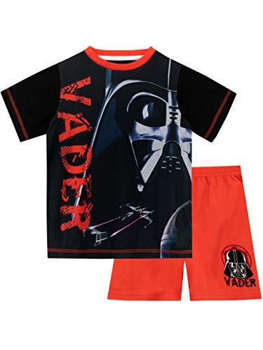 Star Wars Jungen Darth Vader Schlafanzug Rot 116