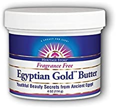 Heritage Store Heritage Store Egyptian Gold Butter Non Gmo, Butter, Fragrance Free (jar) 4oz, 4 Ounce