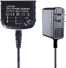 LCS1620 LBXR20 Replaces For Black&Decker 10.8V-20V Li-ion Battery Charger,Compatible Battery Model: BL1512 BL1518 LB2X4020 LBXR20 LBXR20-OPE LB20 LBX20 LBX4020 LBXR2020-OPE BL1514 LBXR16