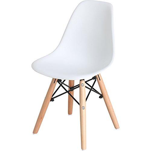 椅子 イームズチェア キッズ デザイナーズ リプロダクト ホワイト PP-902-1