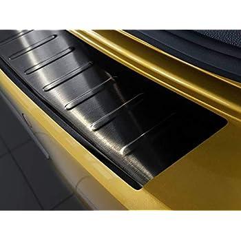 WGS Ladekantenschutz Sto/ßstangenschutz Lackschutz mit ABKANTUNG Carbon auf AluNox/® 1383-504