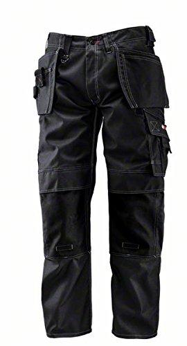 Bosch Professional Hose mit Holstertaschen WHT 09, W34 L35, schwarz