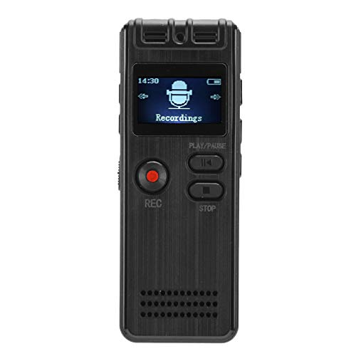 Digital Digital Audio Recorder, WAV、MP3 250mah Lithium Battery 20 Hours Power Supply Time Digital Voice Recorder with ABS