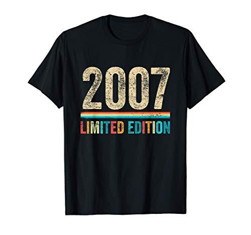 13 años cumpleaños niños niñas regalos divertido 2007 regalo Camiseta