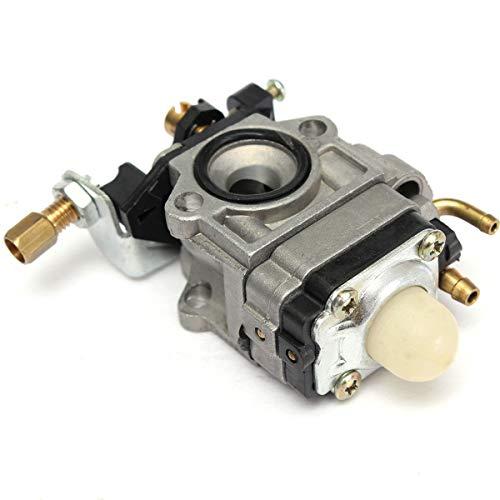 Dafengchui Carburador 10mm Carb w/Junta for Echo SRM 260S 261S 261SB PPT Pas 260 261 BC4401DW Trimmer 43cc 47cc 49cc 50cc (Color : Silver)