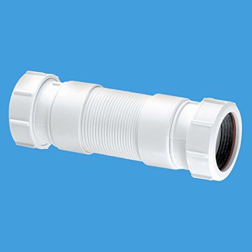 McAlpine flexcon4Flexible Abwasser Anschluss 1–1/5,1cm Universal Steckdose, weiß