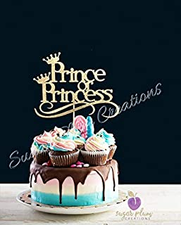 Prince or Princess Cake Topper
