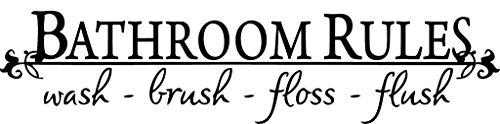 bathroom wall decals quotes - 6