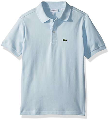 Lacoste Boys' Little Classic Short Sleeve Petit Piqué Polo Shirt, Rill, 6Y