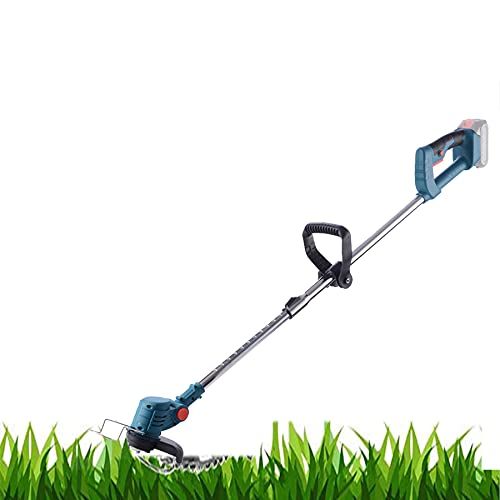 DUXIUYING 21V Grass Trimmers Garden Strimmers Electric Lawn Edger Tool Weed Brush Cutter Kit Pruning Cutter Garden Tools