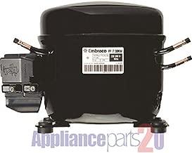 Embraco FF7.5HBK1 Replacement Refrigeration Compressor 1/5 HP R-134A R134A