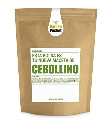 Garden Pocket - Kit de Cultivo de CEBOLLINO - Bolsa Maceta