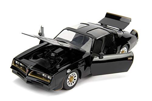 Jada kompatibel mit Pontiac Firebird 1977 schwarz Fast & Furious Modellauto 1:24 Toys
