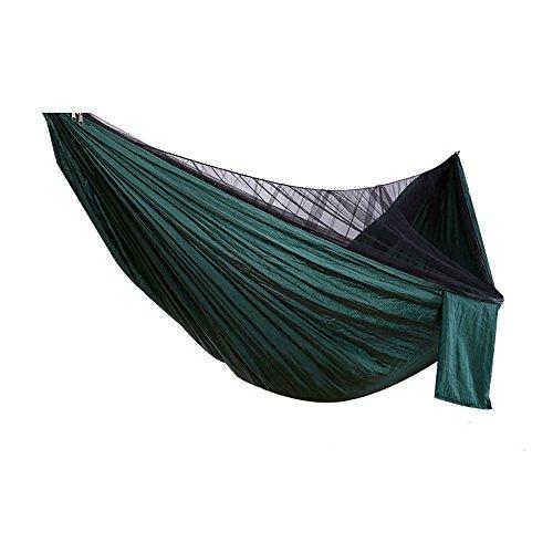 MAATCHH Jardín Hamaca de Camping Litera portátil Hamaca con Mosquitera 600 Libras for el Viaje de Camping Hamaca portátil Portátil para al Aire Montañismo Viajes