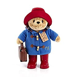 Features Michael bond's best-selling storybook character paddington bear Paddington bear is made from premium super soft tactile fabrics This 33cm standing plush paddington wears 'real' Wellington boot The ultimate gift for a paddington enthusiast