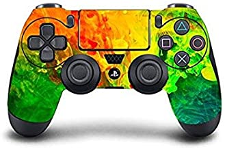 PS4 DualShock Wireless Controller Pro Console - Newest PlayStation4 Controller & Exclusive Customized Version Skin Non-modded (PS4-Colorful) (1 - Pack)