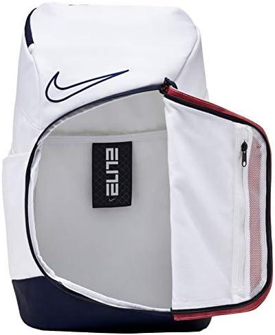 Nike Hoops Elite Pro Backpack - Team USA CQ7282-100 White | Obsidian