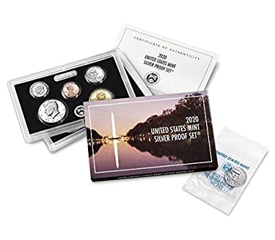 "2020 Silver Proof Set with Bonus 2020 ""W"" Reverse Proof Nickel"