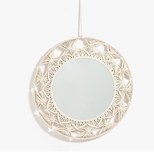 xunyang Macrame Tapestry Purchase Wall Hanging OFFicial site Mirror Decorative Kni Knot