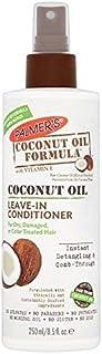 [Palmer's ] パーマーのココナッツオイル式はそのまま残るコンディショナー250Ml - Palmer's Coconut Oil Formula Leave-In Conditioner 250ml [並行輸入品]