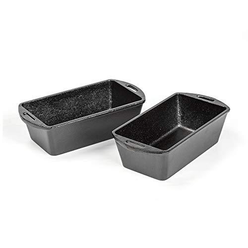 Lodge Cast Iron Bread Pans - Set of 2