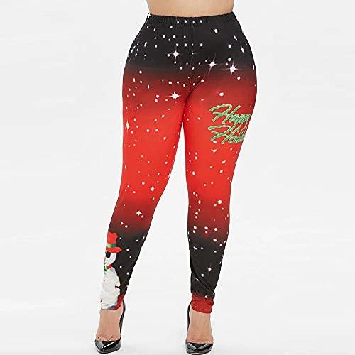 A-HXTM Leggings Deportivos Sin Costuras para Mujer Pantalones De Yoga para Niña Gimnasio Entrenamiento En D Mallas De Fitness Push Up Mallas Deportivas para Mujer 3-Red_L_USA