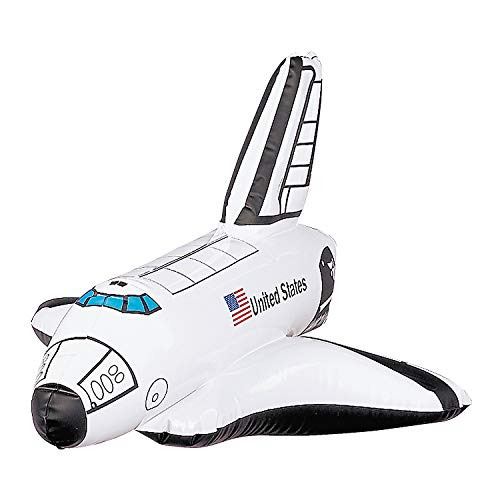 Inflatable Space Shuttle - 12 Inflatables - Birthday Party Favors