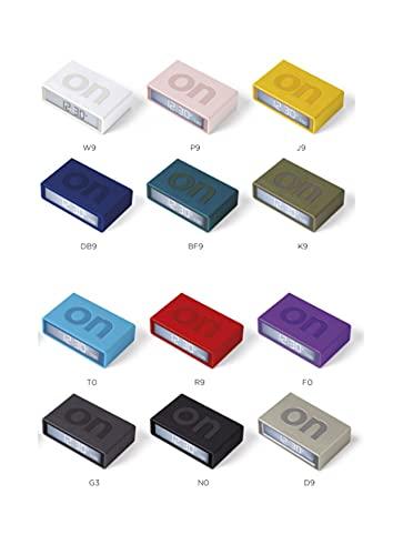 Lexon Flip Plus Reversible LCD Alarm Clock Radio Controlled (Pink)