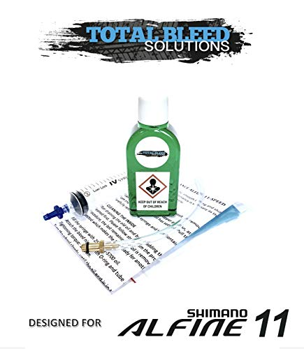 Total Bleed Solutions Service Kit für Shimano Alfine 11-Gang Nabe mit 50 ml SG-S700 Öl
