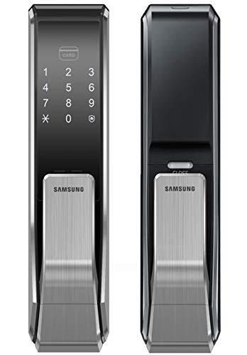 Samsung Digital Door Lock SHS-P717LMK/EN Push Pull Two Way Latch Mortise English Version (Morise - AML220)