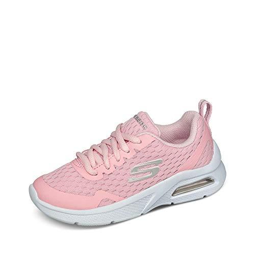Skechers MICROSPEC Max Electric Jumps, Scarpe da Ginnastica Bambina, Pink, 36 2/3 EU