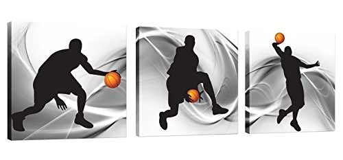 Natural art – Basketball Sports Themed Canvas...
