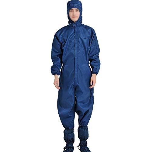 1 pieza de aislamiento de ropa protectora anti virus ropa protectora polvo reutilizable