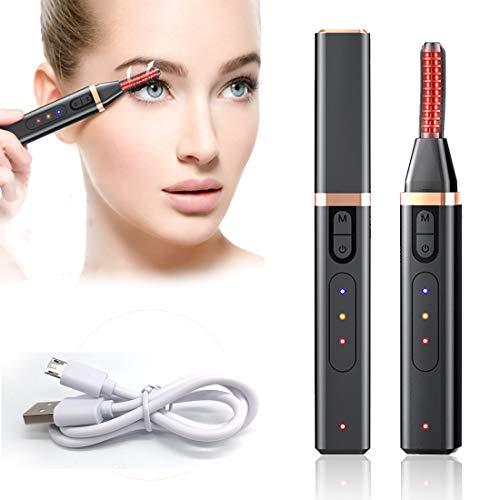 Beheizbare Wimpernzange, Portable Elektrische Wimpernzange, USB Wiederaufladbarer Wimpernzange mit...