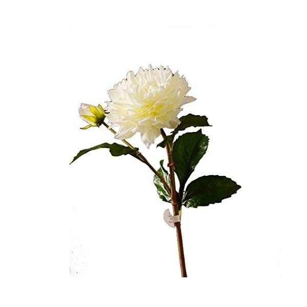 JT- Decoración de Flores Mesa de Comedor Falsa Flor de la decoración de la Dalia de la Flor Artificial de la Sala Falsa…