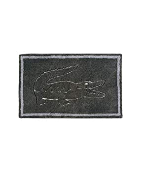 Lacoste Legend 100% Cotton Bathroom Rug 20  W x 32  L Cliff