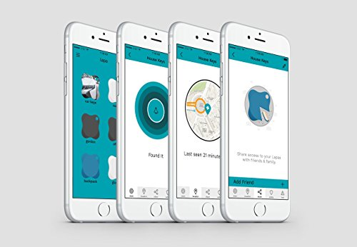 LAPA - Blue  Find everything that matters, from keys to your phone