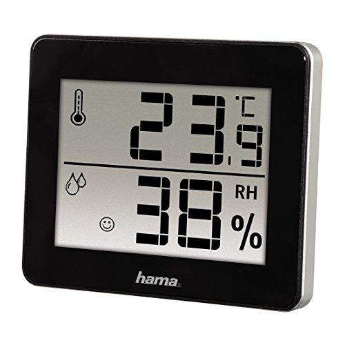 "Hama Thermomètre/hygromètre ""TH-130"", noir"