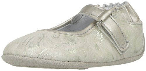 Robeez Baby-Girl's Mary Jane-Mini Shoez Crib Shoe, Shannon-Gold, 3-6 Months M US Infant