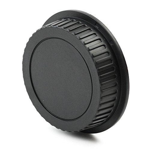 CELLONIC Tapa Objetivo Trasera Compatible con Canon EF 40mm f/2.8, 50mm 1:1.2L USM, 70-300mm f/4-5.6, EF-S 18-55mm f/3.5-5.6, EF-S 60mm 1/2.8, Bayoneta Cubierta Protectora EF, EF-S Mount