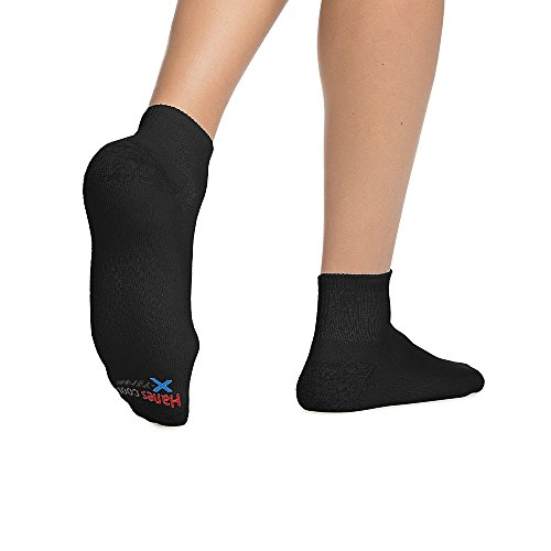 By Hanes Men's X-Temp Comfort Cool Ankle 6-Pack_Black_6-12