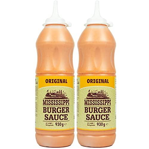 Mississippi - 2er Set Burger Sauce Squeeze