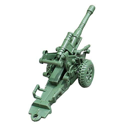 Sytaun Zweirädriges Artillerie-Mörser-Modell Kinder Spielen Zubehör Für Kriegsszenen EIN Klassisches Spielzeug Für Körper Und Geist