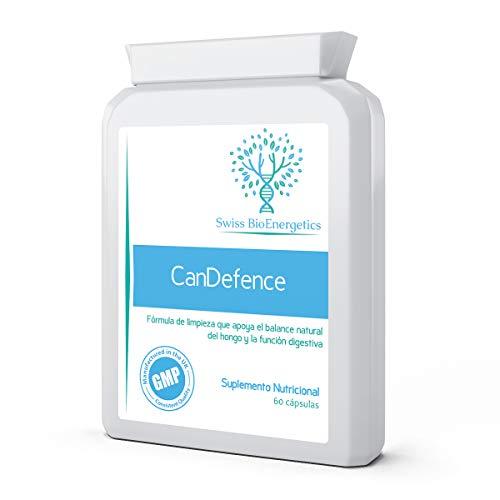 ✔ MÁXIMO POTENCIAL – CanDefence de Swiss BioEnergetics es una fórmula todo-en-uno especialmente diseñada que contiene 15 poderosos ingredientes que abarcan hierbas activas, probióticos y otros agentes naturales de limpieza y protección con acciones a...