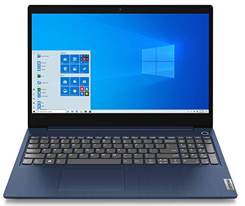 """Lenovo IdeaPad 3 Notebook, Display 15,6"""" Full HD IPS, Processore intel Core i3-10110U, 512GB SSD, 8GB RAM, Fingerprint, Windows 10, Blue Abyss"""