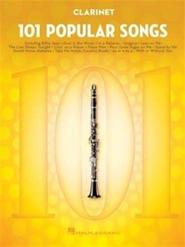 101 Popular Songs: for Clarinet